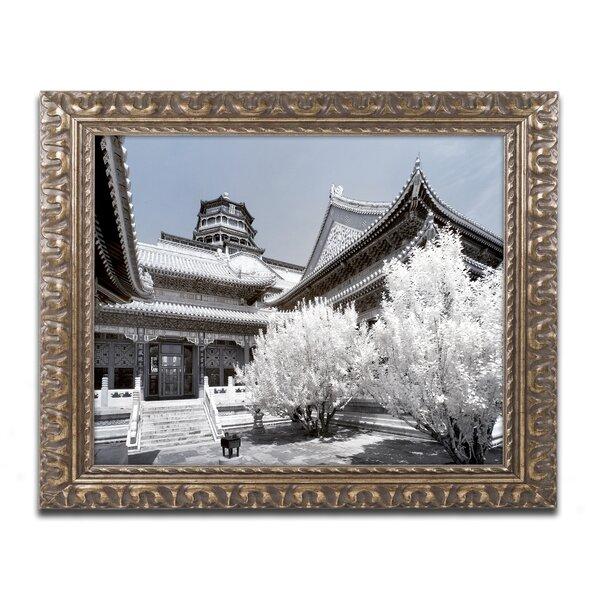 Trademark Art White Palace By Philippe Hugonnard Framed Photographic Print Wayfair