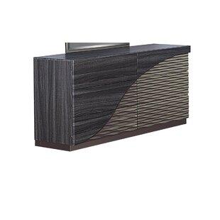 Reviews Carrara 6 Drawer Double Dresser by Orren Ellis