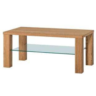 Myria Coffee Table with Magazine Rack by Union Rustic