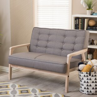 Guide to buy Calla Mid Century Loveseat by Latitude Run Reviews (2019) & Buyer's Guide