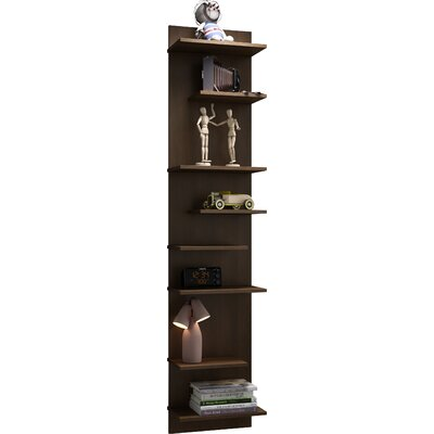 Turn on the Brights Angelica Floating Shelf Finish: Tobacco