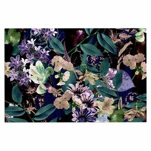 'Midnight Garden' Doormat