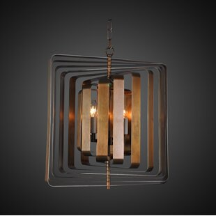 Jinie 4-Light Chandelier b..