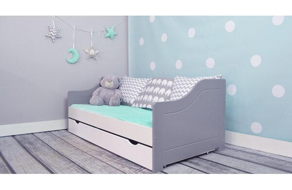 m bel concept kinderbett eva mit matratze und schublade. Black Bedroom Furniture Sets. Home Design Ideas