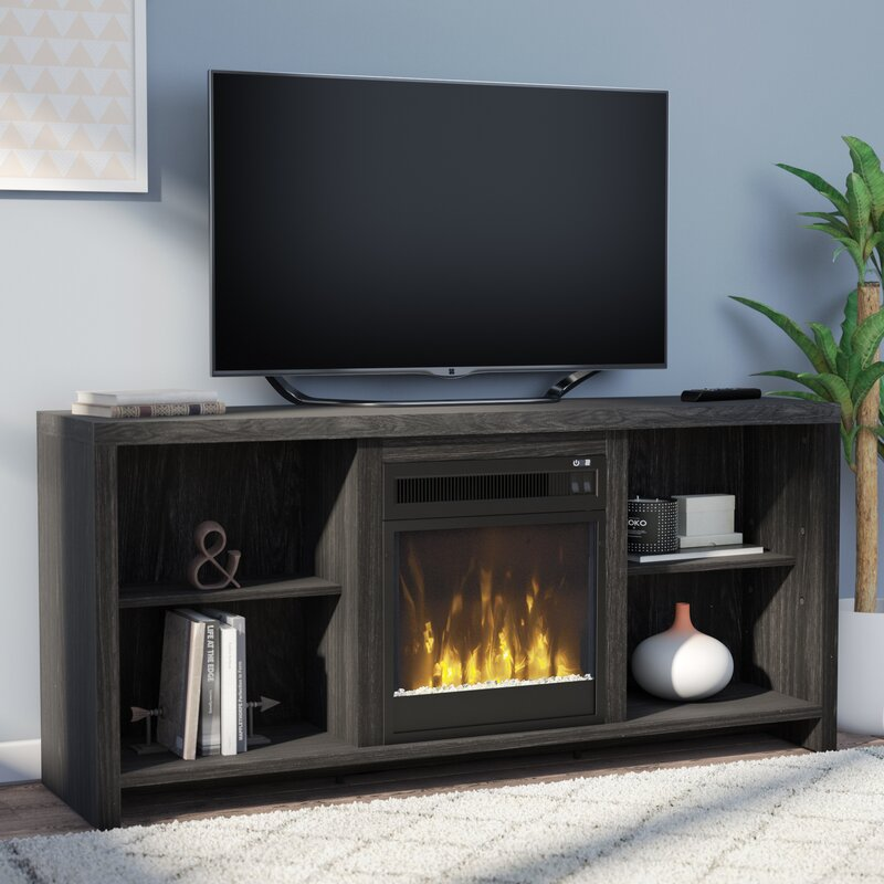 Cadle 60  TV Stand with Electric Fireplace. Fireplace TV Stands   Entertainment Centers You ll Love   Wayfair
