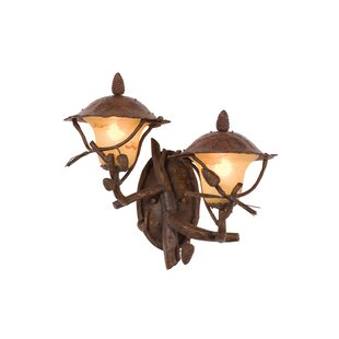 Savings Ponderosa 2-Light Outdoor Sconce By Kalco