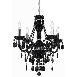 Willa Arlo Interiors Geoffroy 4-Light Candle Style Chandelier