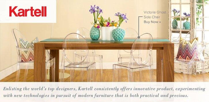 Kartell Furniture Barstools Lighting Office Dining Chairs - Kartell furniture
