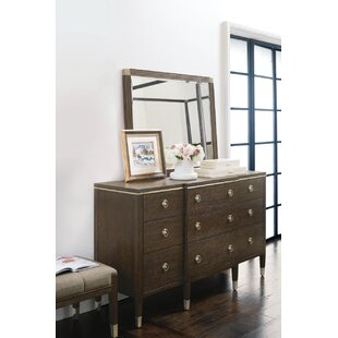 Clarendon 9 Drawer Dresser with Mirror