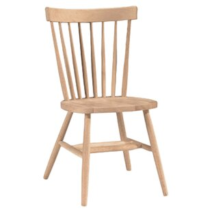 Sofia Arrowback Solid Wood Dining Chair by August Grove