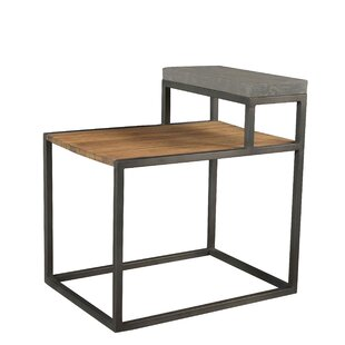 17 Stories Buddy Step End Table