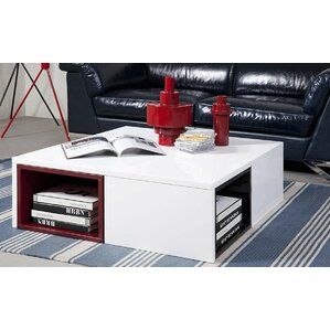 Belafonte Ore Coffee Table with Colored Stools by Wade Logan