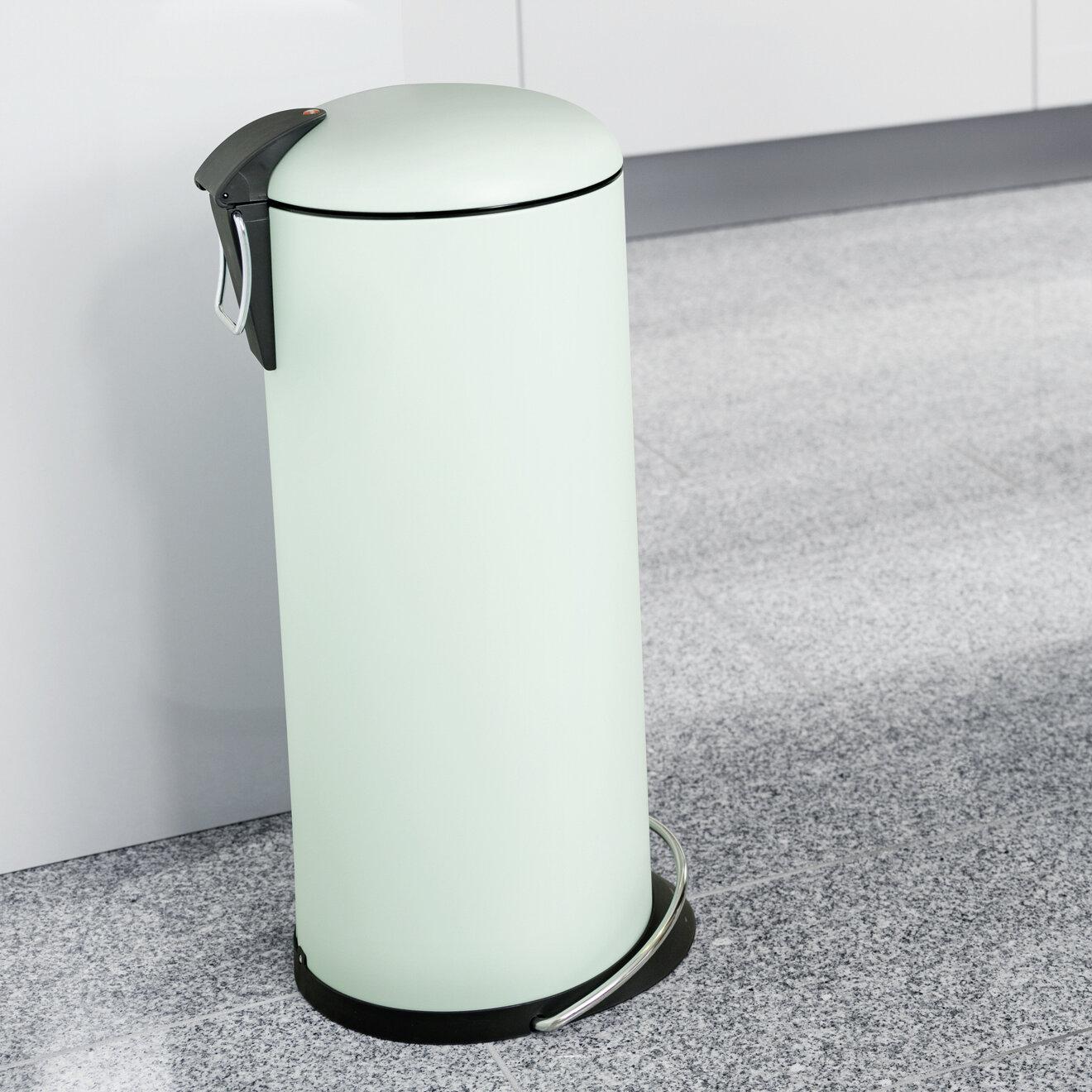 Hailo 24 L Mülleimer Top Design aus Metall   Wayfair.de