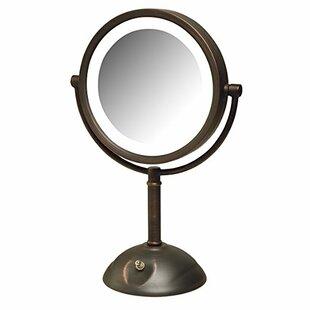 Best Reviews Bronze LED Makeup/Shaving Mirror BySymple Stuff