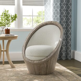 Hashimoto Barrel Chair by Bungalow Rose