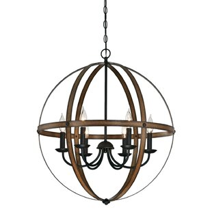 Willa Arlo Interiors Joon Indoor 6-Light LED Globe Chandelier