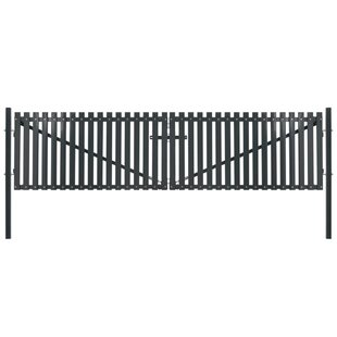Hyslop 6' X 6' (4m X 1.75m) Picket Fence Panel By Sol 72 Outdoor