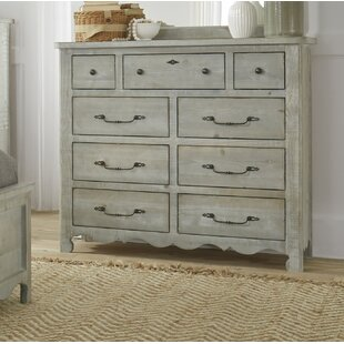 Jeffery 9 Drawer Double Dresser