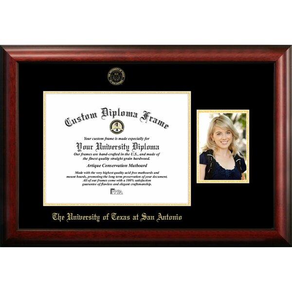 Campus Images University Of Texas San Antonio Embossed Diploma Picture Frame Wayfair