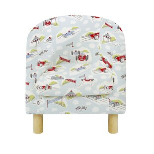 Felty Racing Cars Children's Club Chair By Zoomie Kids