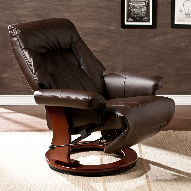 Newton Manual Swivel Recliner With Ottoman & Swivel Recliners Youu0027ll Love | Wayfair islam-shia.org