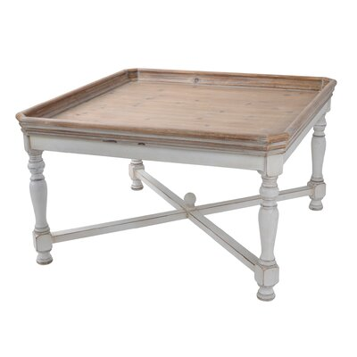 Coffee Table with Tray Top by Alcott Hill