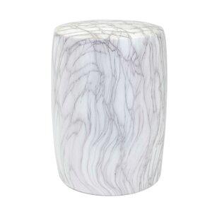 Wawona Ceramic Cylindrical Garden Stool by Mercer41