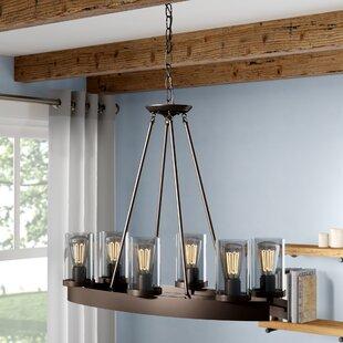 Florine 6-Light Shaded Chandelier by Laurel Foundry Modern Farmhouse
