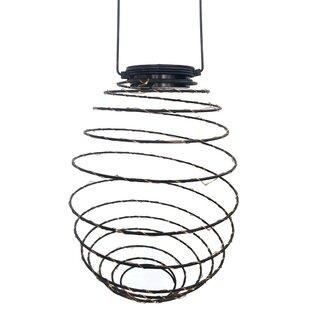 VCS Solar Spiral Fairy String Lights Lantern