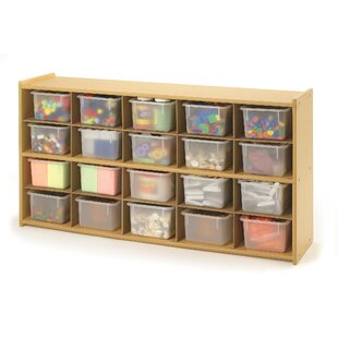 Look for Value Line 20 Compartment Cubby with Trays ByAngeles