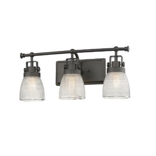 Price comparison Haigler 3-Light Vanity Light By Breakwater Bay