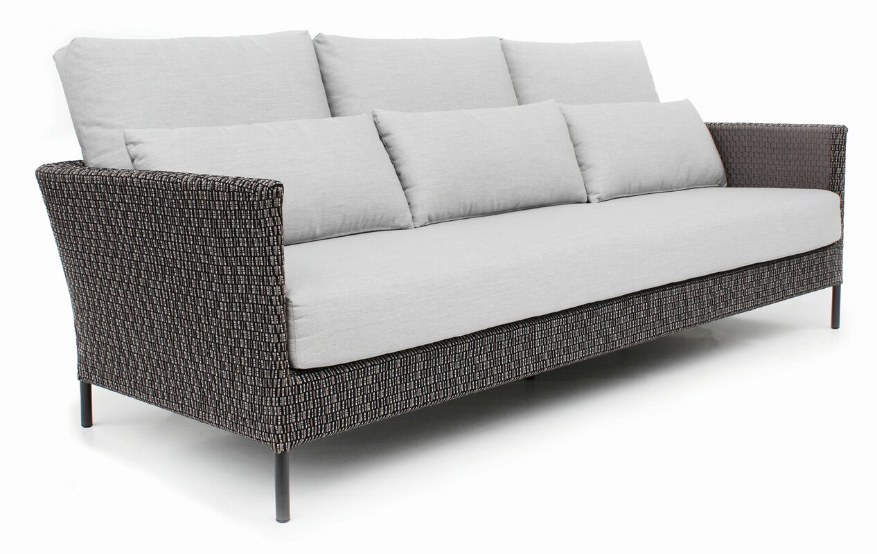 ... Lane Venture Patio Furniture Covers By Seasonalliving Precision Indoor  Outdoor 3 Seater Sofa With Cushion ... Part 55