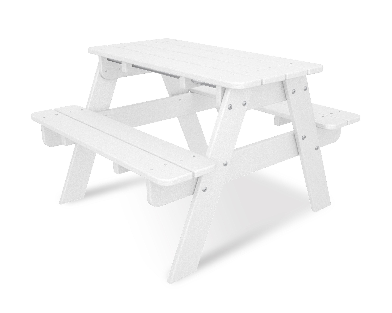 POLYWOOD® Kids Rectangular Picnic Table U0026 Reviews   Wayfair