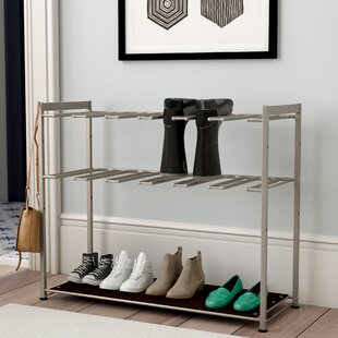Affordable 6 Pair Boot Rack By Rebrilliant