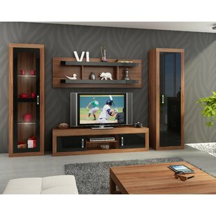 Order Barberton Entertainment Center by Orren Ellis Reviews (2019) & Buyer's Guide