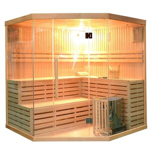 6 Person Traditional Steam Sauna By ALEKO