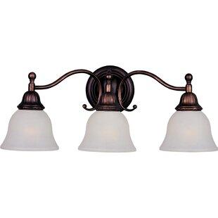 Affordable Stronghurst 3-Light Vanity Light By Alcott Hill