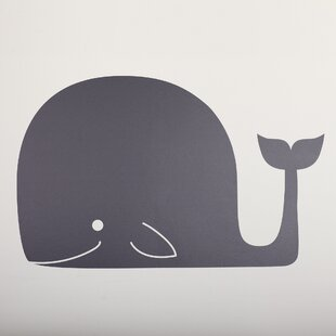 Whale Mail Chalkboard Wall Decal & Whale Wall Decal | Wayfair
