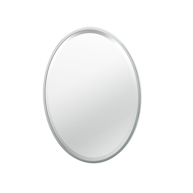 Flush Mount Framed Bathroom Vanity Mirror Reviews Allmodern