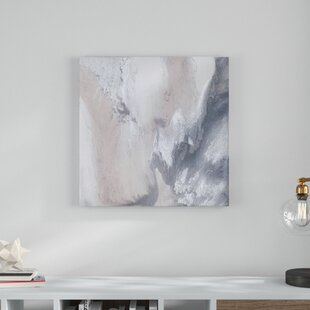 949f4156f9f4 'Blissful' Photographic Print on Canvas in Blush/White/Gray