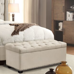 Diamond Sofa Majestic Upholstered Storage Bench