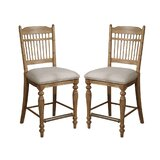 Romelia Spindleback 24 Bar Stool (Set of 2) by August Grove®