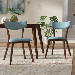 Putnam Upholstered Dining Chair (Set of 2) George Oliver