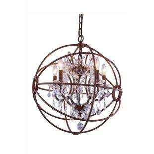 Willa Arlo Interiors Svante 4-Light Chandelier