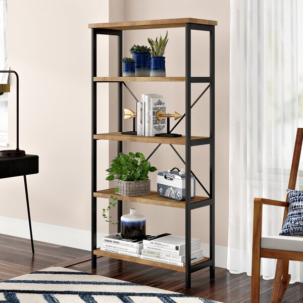Mercury Row Parthenia Etagere Bookcase Amp Reviews Wayfair
