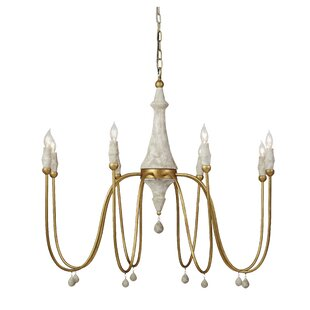 Gabby Clay 8-Light Chandelier