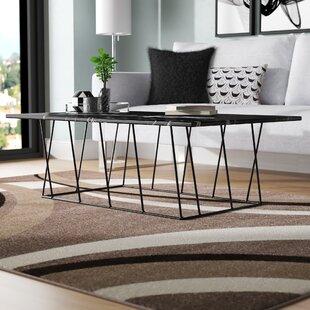 Brayden Studio Sligh Coffee Table with Magazine Rack