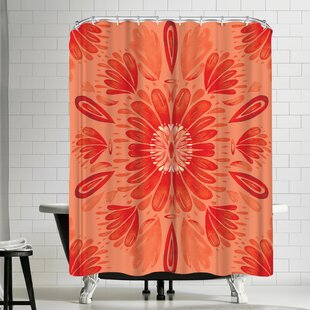 Kristine Lombardi Floral Single Shower Curtain
