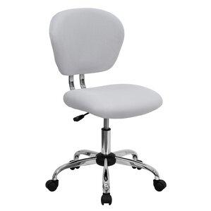 Desk Chairs White white desk chairs you'll love | wayfair