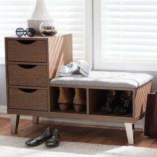 Wrought Studio Shoe Storage Cabinet